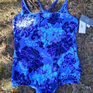 🆕 Speedo One Piece Swimsuit Classic Floral